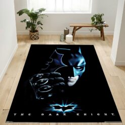 Batman With Batarang Rug