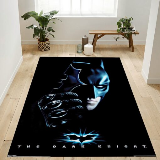 Batman With Batarang Rug
