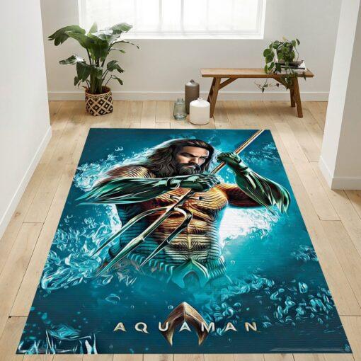 Aquaman Trident Rug