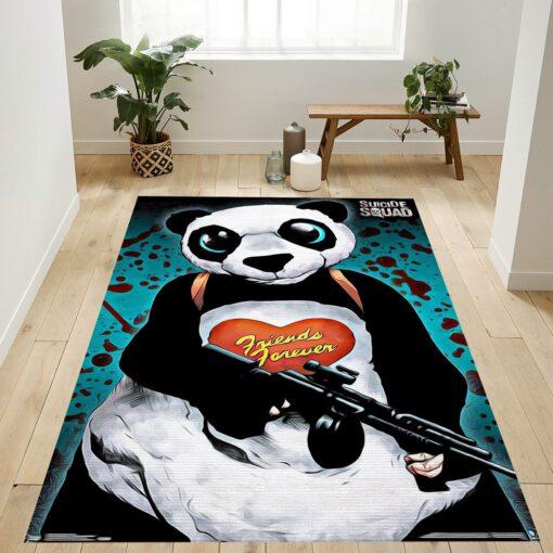 Panda Man Of Suicide Squad Rug