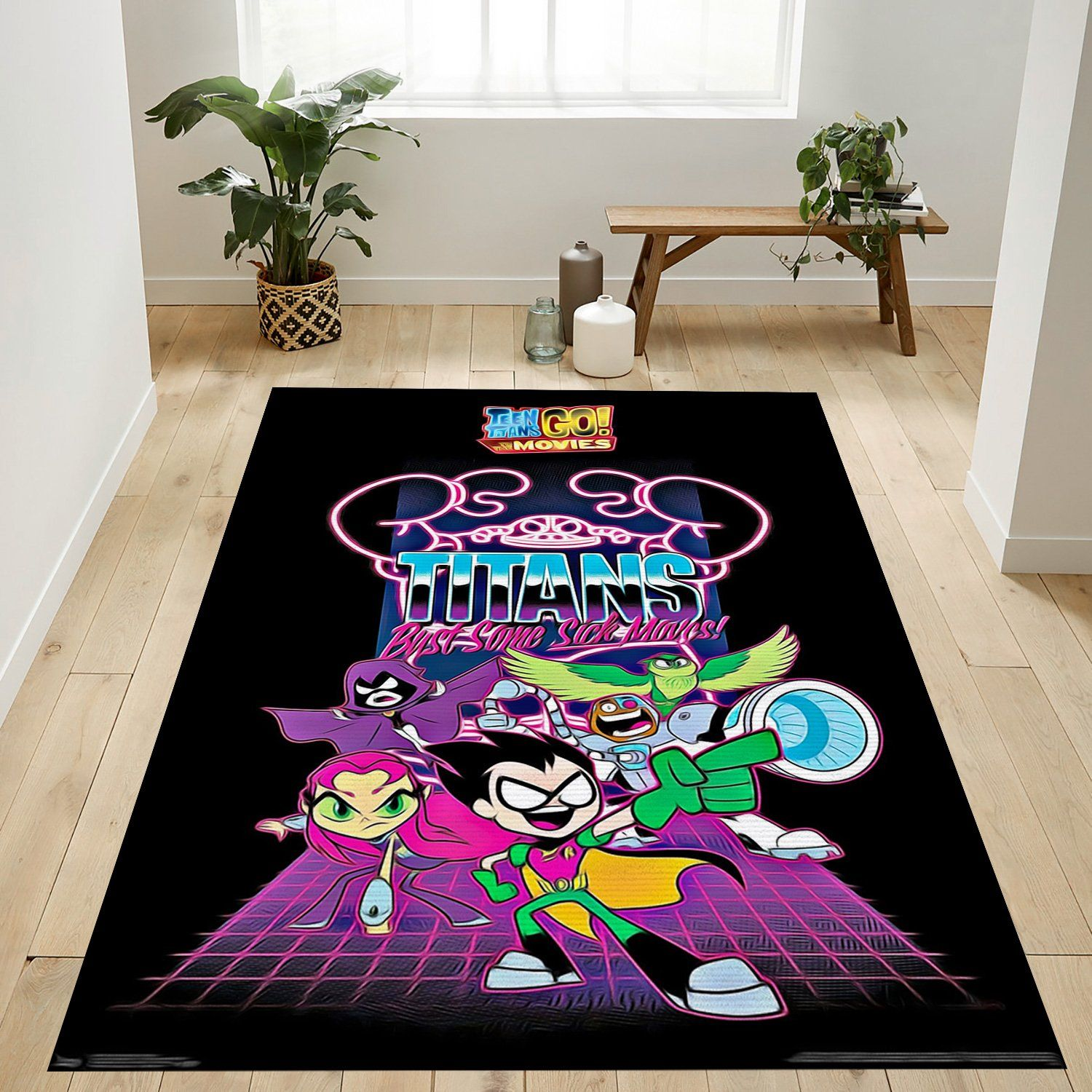 Teen Titans Go To The Movies Rug