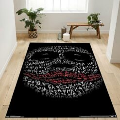 The Joker Dark Knight Rug
