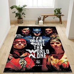 Dc Comics Movie Rug