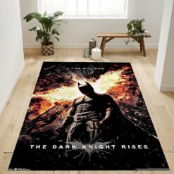 Dc Comics Movie The Dark Knight Rises Rug