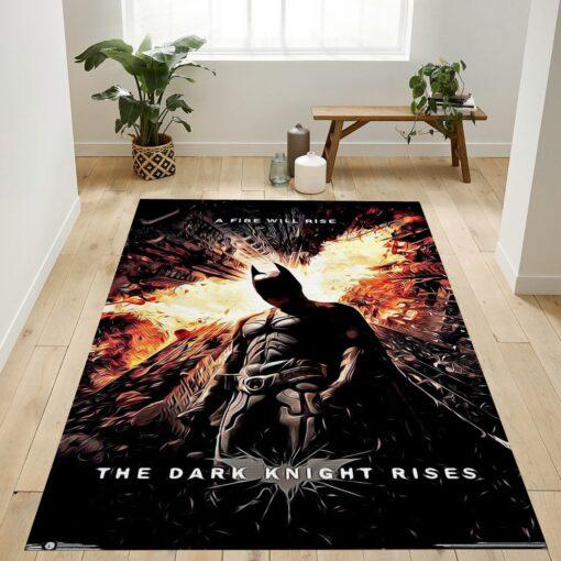 Dc Comics Movie The Dark Knight Rises Rug