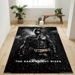 The Dark Knight Rises Batman Rug