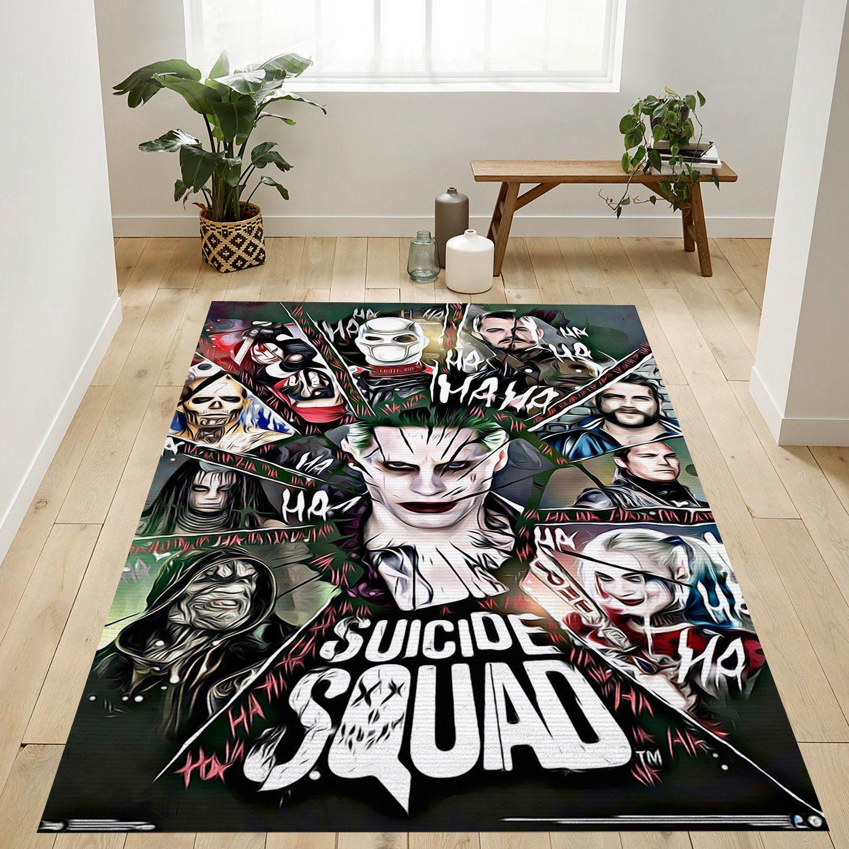 Suicide Squad RugSuicide Squad Rug