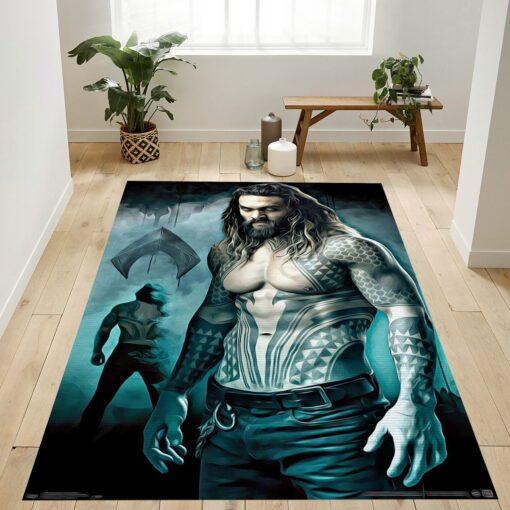 Justice League King Of Atlantis Rug
