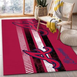 Atlanta Braves MLB Rug