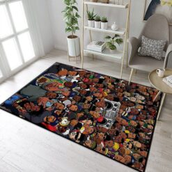 Rappers Hip Hop Music Rug
