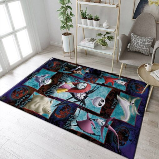 The Nightmare Before Christmas Characters RugThe Nightmare Before Christmas Characters Rug