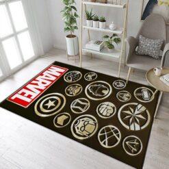 Avenger Marvel Logo Rug