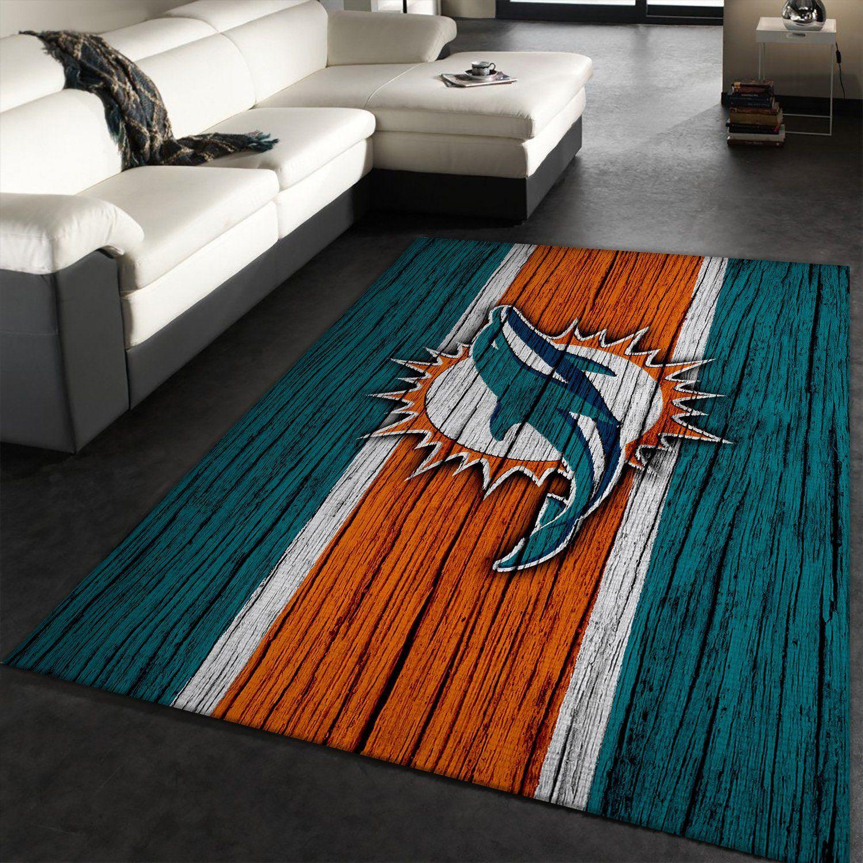 Miami Dolphins NFL Sport Rug