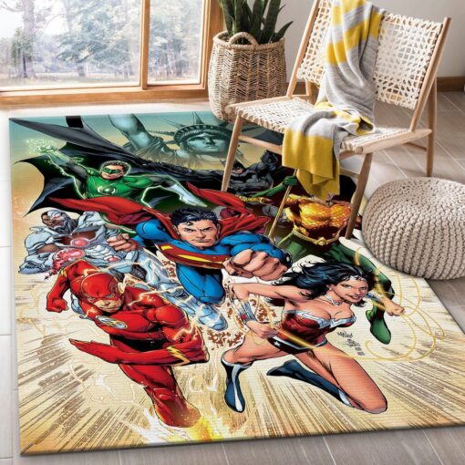 Justice League Rug