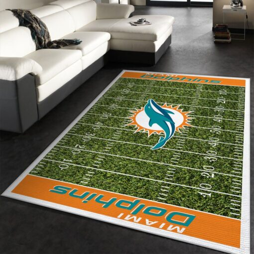 Miami Dolphins Sport Rug