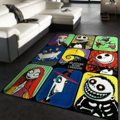 Jack The Skeleton Rug