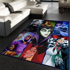 Disney Villains Rug