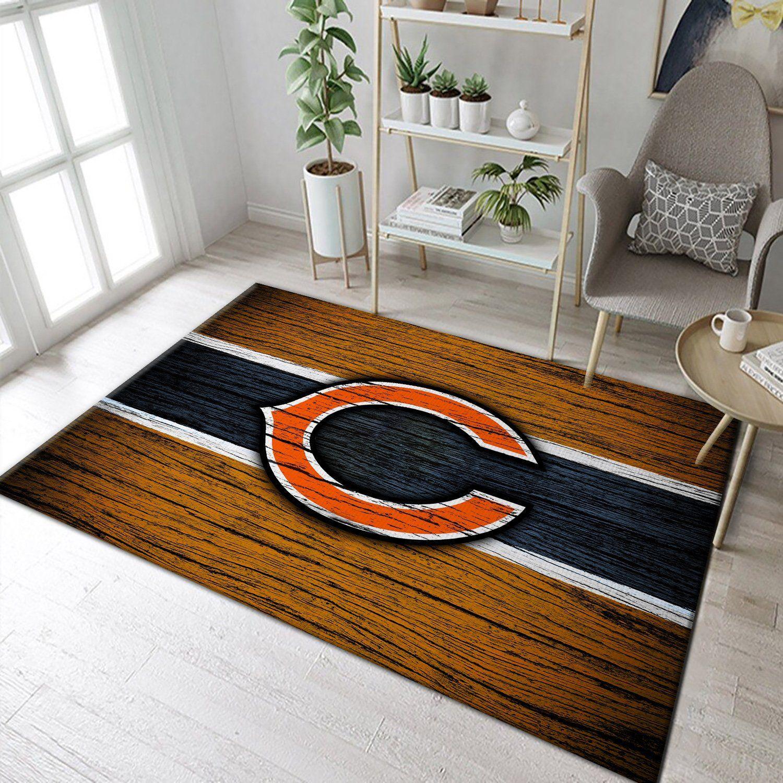 NFL Logo Team Chicago Bears Rug