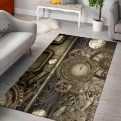 Steampunk Design Music Rug