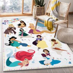 Disney Princess Bedroom Rug