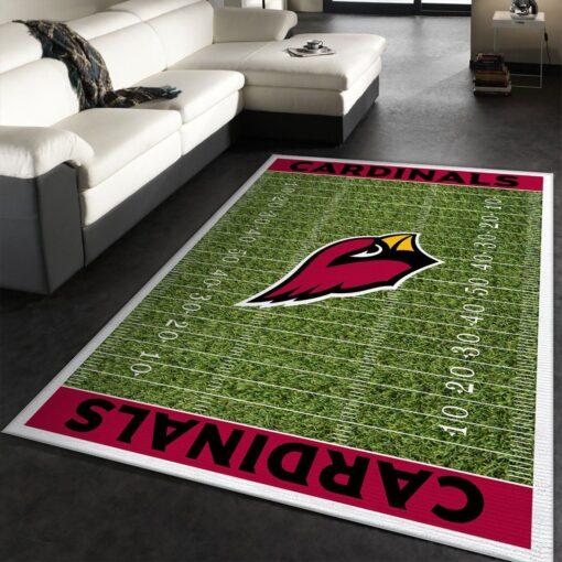 NFL Team Logo Arizona Cardinals Rug