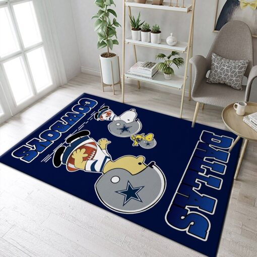 Dallas Cowboys Snoopy Rug