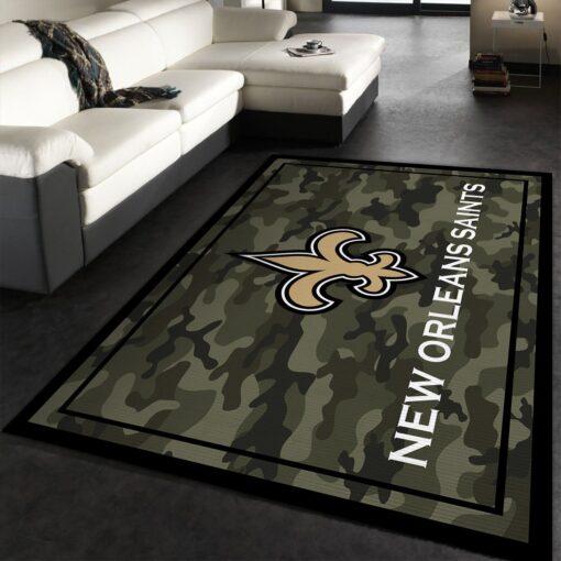 New Orleans Saints Rug