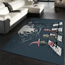 Jack Skellington Walking The Street Rug