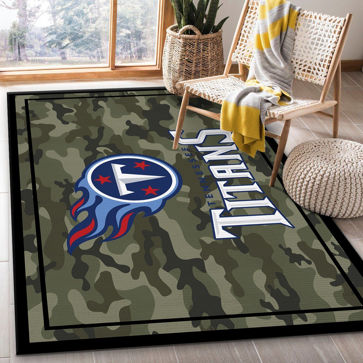 Tennessee Titans NFL Rug