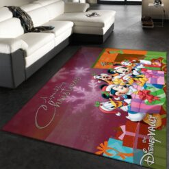 Mickey Mouse Family Rug