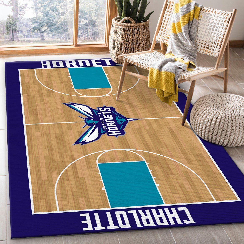 Charlotte Hornets Rug