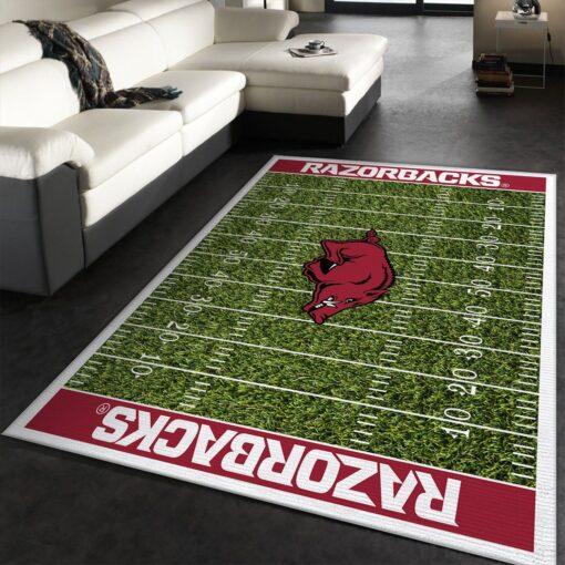 Arkansas Razorbacks NFL Rug