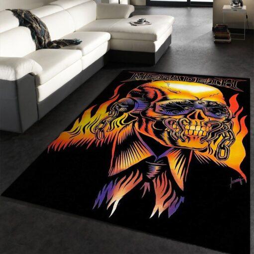 Megadeth Rug