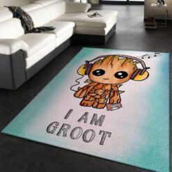 Baby Groot Guardians Of The Galaxy Rug