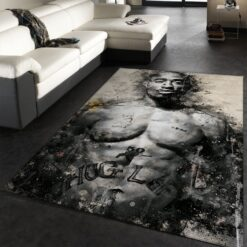 Hiphop Rapper Rug