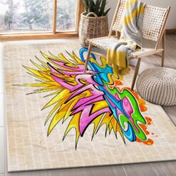 Graffiti Music Rug
