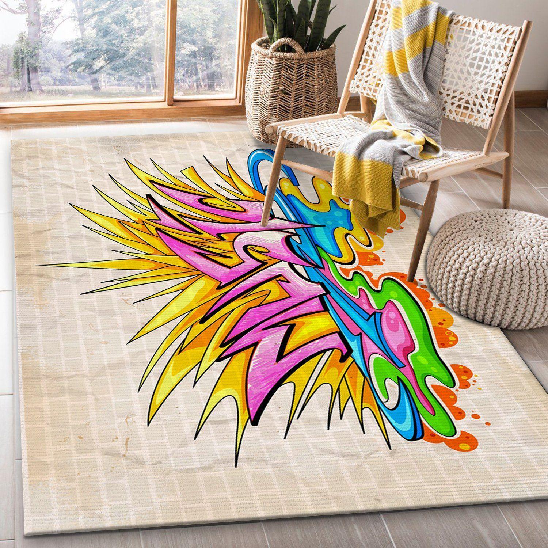 Graffiti Music Rug