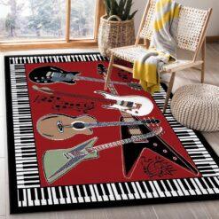Music Guitar Rug
