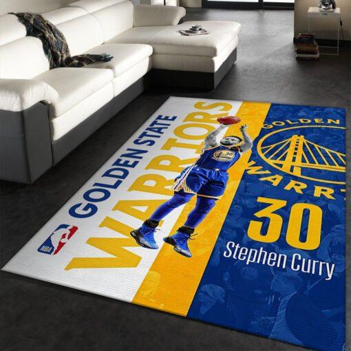 Golden State Warriors NBA Rug