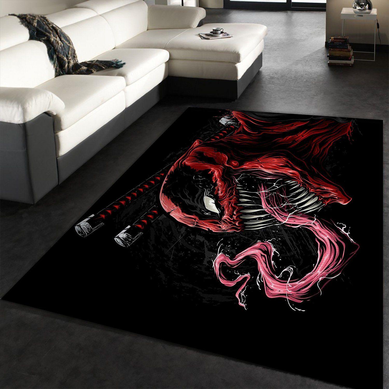 Venom Movie Rug