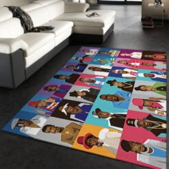 Hip Hop Legends Rug
