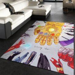 Avenger Marvel Movies Bedroom Rug