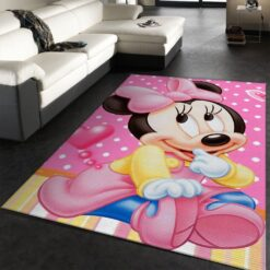 Minnie Mouse Movies RugMinnie Mouse Movies Rug