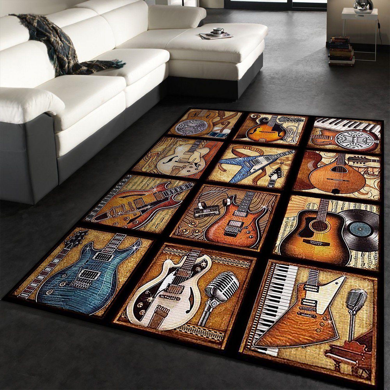 Art Guitar Rug