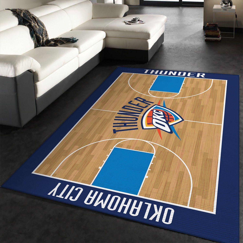 Oklahoma City Thunder NBA RugOklahoma City Thunder NBA Rug