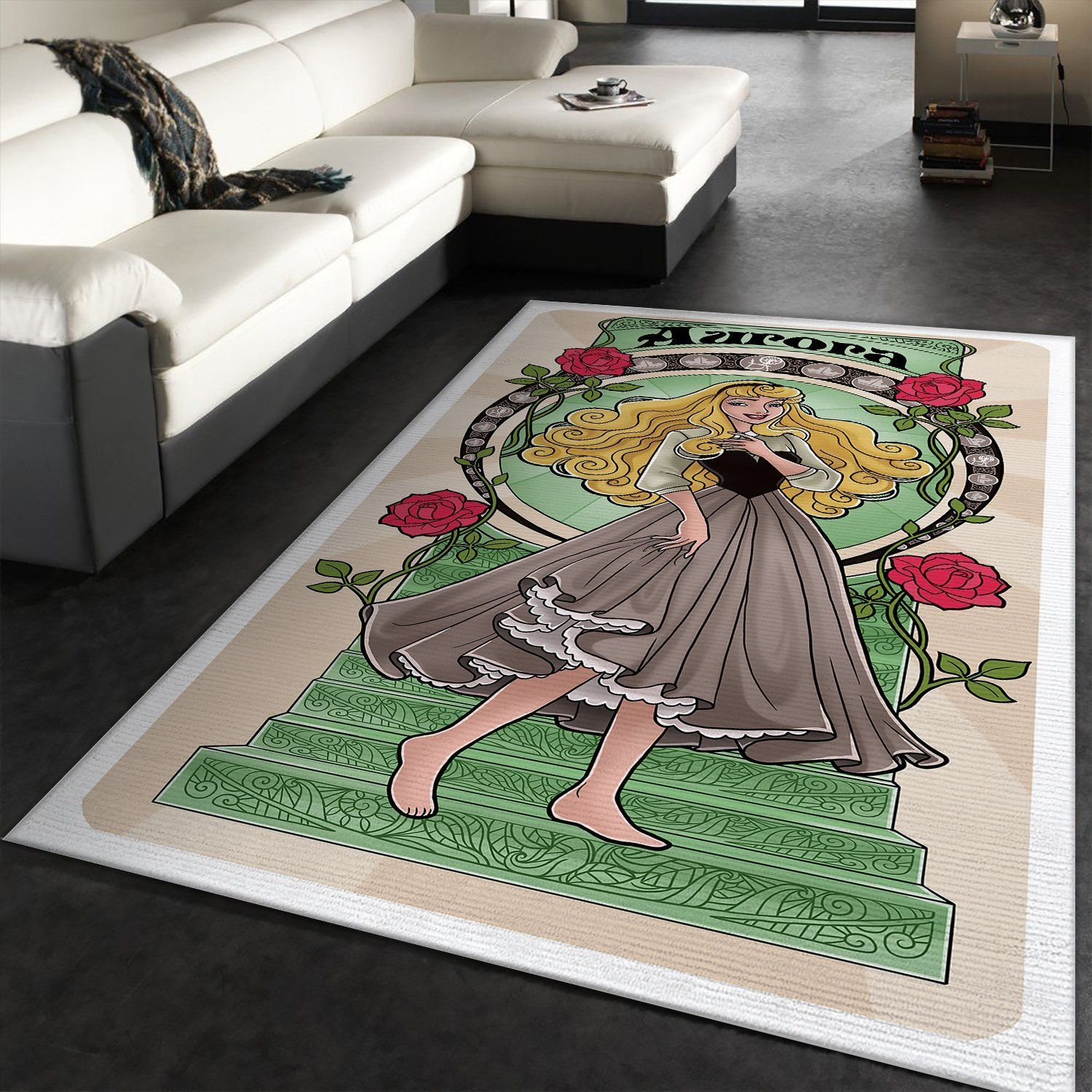 Aurora Disney Princess Rug