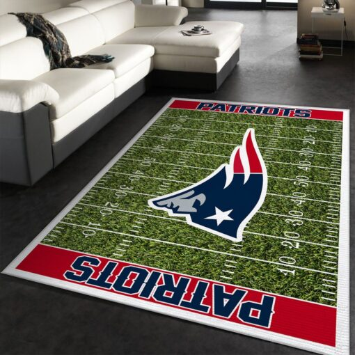New England Patriots Logo Rug