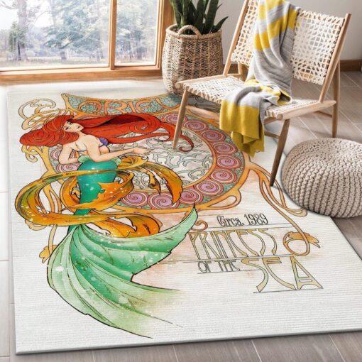 Ariel Disney Rug
