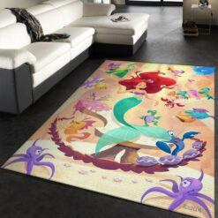 The Little Mermaid Rug