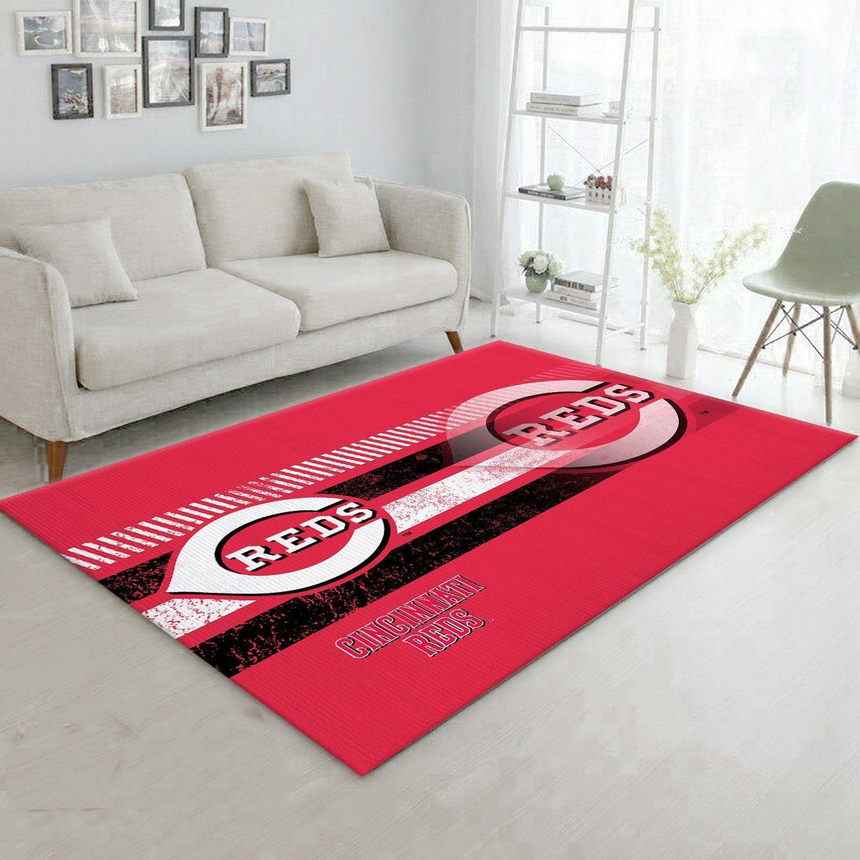 Cincinnati Reds MLB Rug